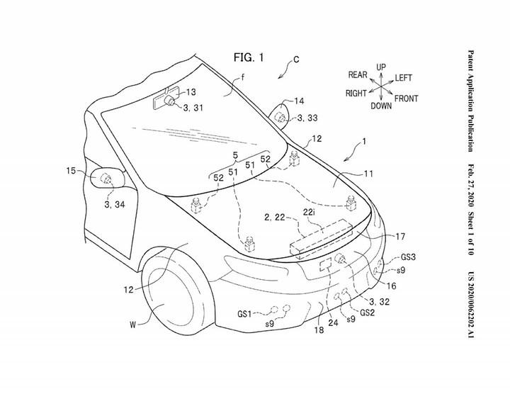 Для мягкого «приземления»: Honda запатентовала внешнюю подушку безопасности
