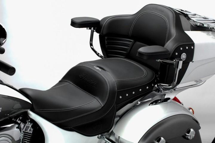На серийных мотоциклах появилась функция охлаждения сиденья