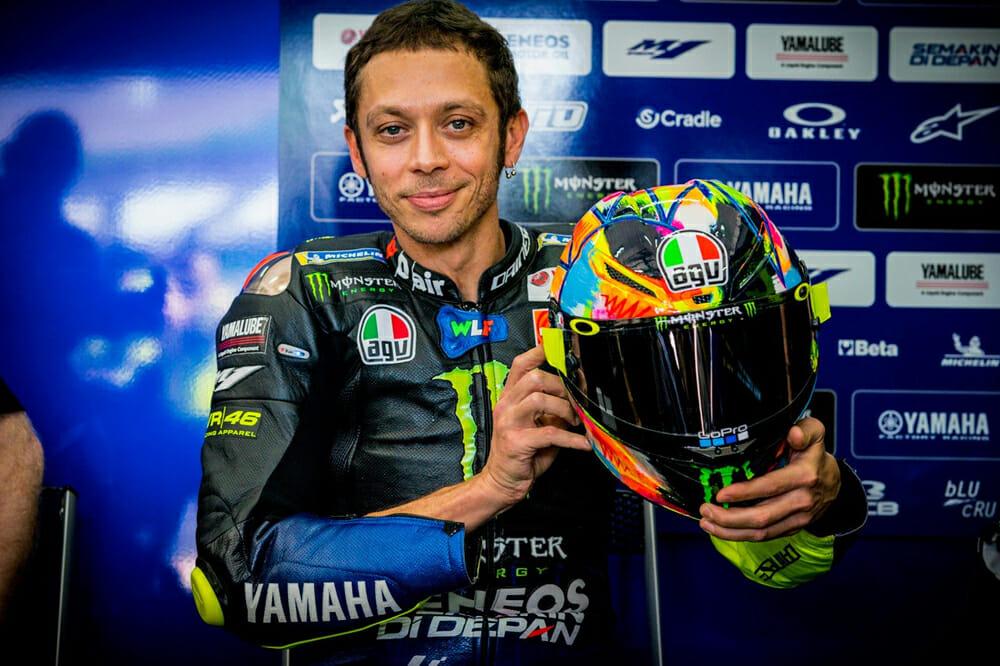 7-Time MotoGP Champ Valentino Rossi
