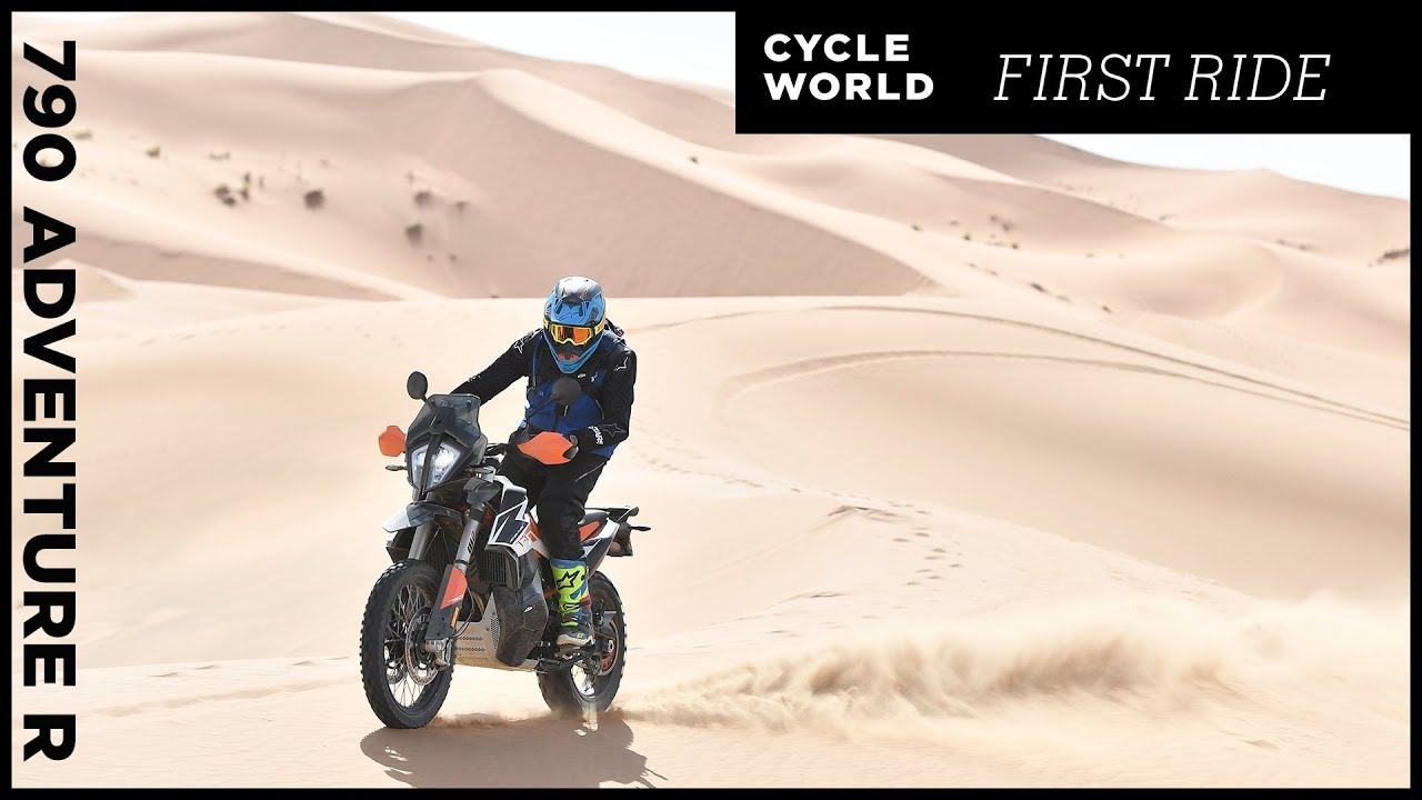 2019 KTM 790 Adventure and 790 Adventure R First Ride Review